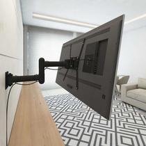 Suporte Multivisão Stpa50 De Parede Para Tv/monitor De 19  Até 56  Preto -