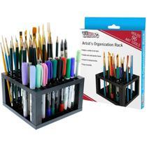 Suporte organizador para 96 lapis pincel caneta para maquiagem desenho arquitetura engenharia - Kangur