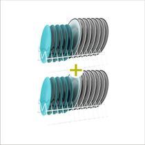 Suporte p/ pratos vertical essence - 2 unidades - Casa Expressa