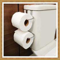 suporte papel higiênico caixa acoplada inox - Stolf