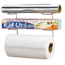 Suporte para 3 rolos de papel com ventosas Arthi -