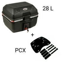Suporte para Bagageiro + Baú/Bauleto Utility 28 lts - Honda Pcx (M1) - Atabaska Mix