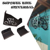Suporte Para Bicicleta Parede Bike Mtb Ou Speed Bike Preto - ID Tech