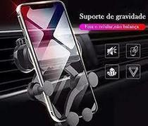 Suporte Para Celular Smartphone Saida De Ar Gravitacional - Car Holder