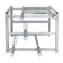 Suporte Para Churrasqueira de Alvenaria Em Aço Inox Kit 1004 Premium  Giragrill -