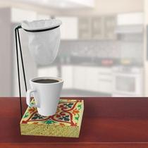 Suporte Para Coador De Cafe Individual De Pano - Cocaplas