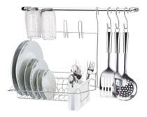 Suporte Para Cozinha Cromado Cook Home Kit 8 Arthi -