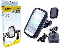 Suporte para guidão  bicicleta/moto a prova d'água celular/gps 6.3' - Bmax