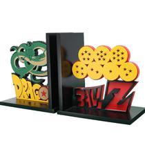 Suporte para livros e jogos geek Dragon Ball Z Decoração criativa nerd - Dmadero