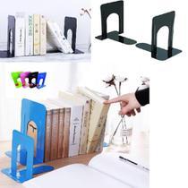 Suporte Para Livros Porta Cd Dvd Aparador Kit Organizador Documentos Kit Livro Bookend - GIMP
