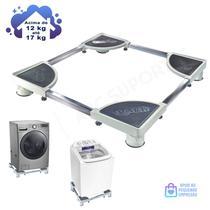 Suporte para Máquina de Lavar/ Secar / Lava e Seca 12 à 17kg - Quality