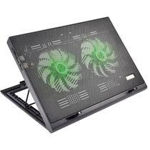 Suporte Para Notebook Com 2 Coolers Acoplados Ac267 Preto Mu - Multilaser