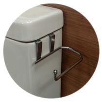 Suporte para Papel Higienico Caixa Acoplada 1 Rolo em Aço cromado - 264 - Duler -