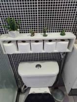 Suporte para papel higiênico com kit de instalação fred planejados -