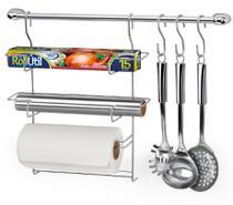 Suporte para pendurar utensílios na parede cook home 6 - Arthi