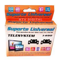 Suporte para TV Fixo de 14 até 110 - 5 ANOS DE GARANTIA - TELESYSTEM