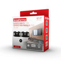 Suporte para TV fixo universal Brasforma - SBRUB750 (LED, LCD, Plasma, 3D, Smart de 10 a 71) -