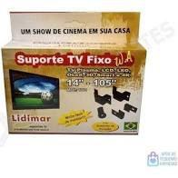 Suporte Para Tv Fixo Universal De 14 Á 105 Polegadas - Lidimar -