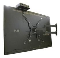 """Suporte para TV LED, LCD, Smart e Curva de 23 a 55"""" Articulado  + Prateleira para conversor -  CS0040A-SC - C.S"""