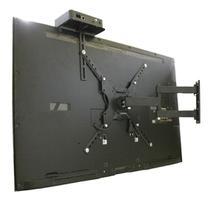 """Suporte para TV LED, LCD, Smart e Curva de 23 a 55"""" Articulado  + Prateleira para conversor -  CS0040A-SC -"""