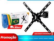 Suporte Para TV Monitor Articulado 3 Movimentos Parede Teto Mesa 10 a 56 pol. (QS560 PLUS) - Quallity