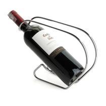 Suporte Para Vinho Vinoserv Aço Cromado Forma -