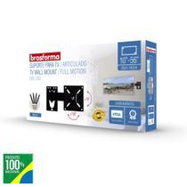 """Suporte Parede Articulado p/ TV LED, LCD, Plasma, 3D, Smart TV E 4k 10"""" a 56 - Brasforma"""" -"""