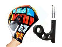 Suporte Parede para Capacete Moto Bicicleta Skate Patinete - Artbox3D