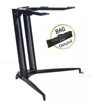 Suporte Piano 700/01 Preto Stay + Bag -