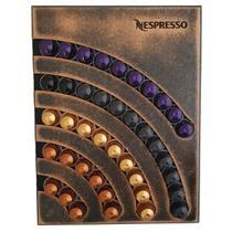 Suporte Porta 40 Capsulas Parede Nespresso MDF Artesanal - Zanline