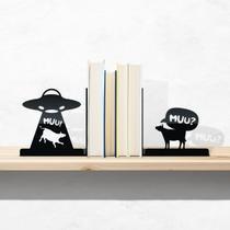 Suporte Porta Livros Ovni Bibliocanto Aparador - Fábrica Geek