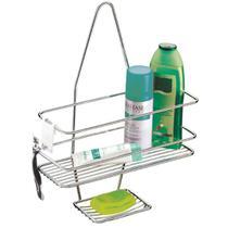 Suporte Porta Shampoo Sabonete Encaixe no Registro Banheiro Luxo - Future