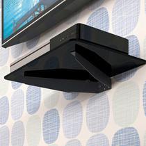 Suporte Prateleira de Vidro Para Dvd Blue-Ray Games e Receptores 35x24 Sdvd 805 - Multivisão