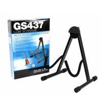 Suporte QuikLok GS437 de Chão para Violão preto Reforçado -