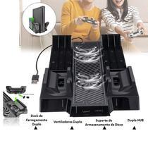 Suporte Refrigeração Xbox One Base Vertical Dock Cabo Usb - Concise Fashion Style