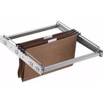 Suporte Suspenso Extensível Para Pastas Escritório 45x41x5cm - Zanline