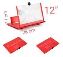 Suporte Tela de Aumento Zoom 3D Para Celular Tablet F1 12 Polegadas - MF