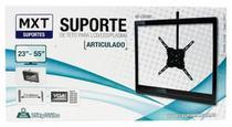 Suporte Teto Tv Lcd Led Plasma 23 A 55'' Mxt Articulado 25kg 28 37 528 -