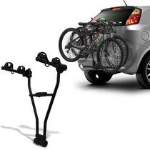 Suporte Transbike Engate Jetbag Xpress 2 Bicicletas Suporte 30KG Aço Carbono Preto Universal -