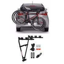 Suporte transbike para carro com  reboque com presilha - Biketudo