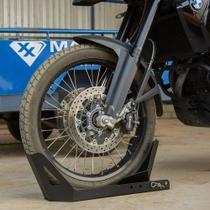 Suporte Trava Para Transporte Moto Carretinha  Reboque - Aço - Maxx Diamond