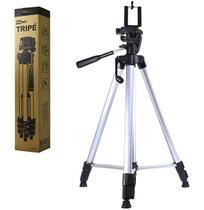 Suporte Tripe de Aluminio para Celular Camera com Nivel 1,37m na Caixa - Royal Eletronic