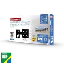 Suporte Tv 32 42 43 49 50 55 Pol Smart LG Philco Tlc Bra3.0 - Brasforma