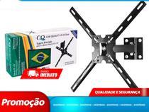 Suporte TV Articulado 3 Movimentos Parede & Teto 10 a 56 pol. CLASSIC (QS56-Classic) - Qualitty