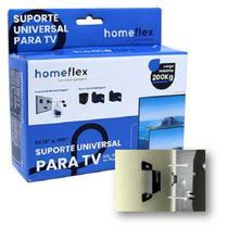 Suporte Tv Led Lcd Universal Parede Rack Home Flex - Homeflex