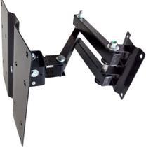 Suporte Tv Tri-articulado LCD Led Plasma 20 A 43 Pol 1d - Felype suportes