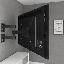 Suporte Tv Tri-Articulado Multivisão Samsung-lg-sony M3 Preto 14 a 58 polegadas -