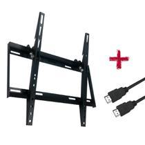Suporte ULTRA SLIM INCLINÁVEL para TV LED, LCD, Plasma, 3D e Smart TV de 32 a 55 - Brasforma