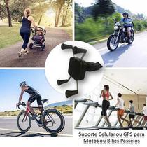 Suporte Universal Garra Para Celular Moto Bike Flexível - Concise Fashion Style