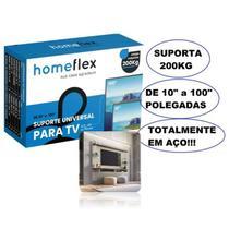 Suporte Universal  Tv Led Lcd Parede Home Flex - Homeflex